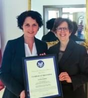U.S. Embassy Nominates Lāsma Stabiņa as Latvia's 2016 Trafficking in Persons Hero
