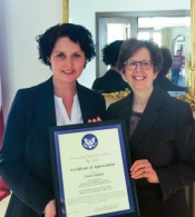 U.S. Embassy Nominates Lāsma Stabiņa as Latvia's 2016 Trafficking in Persons Hero